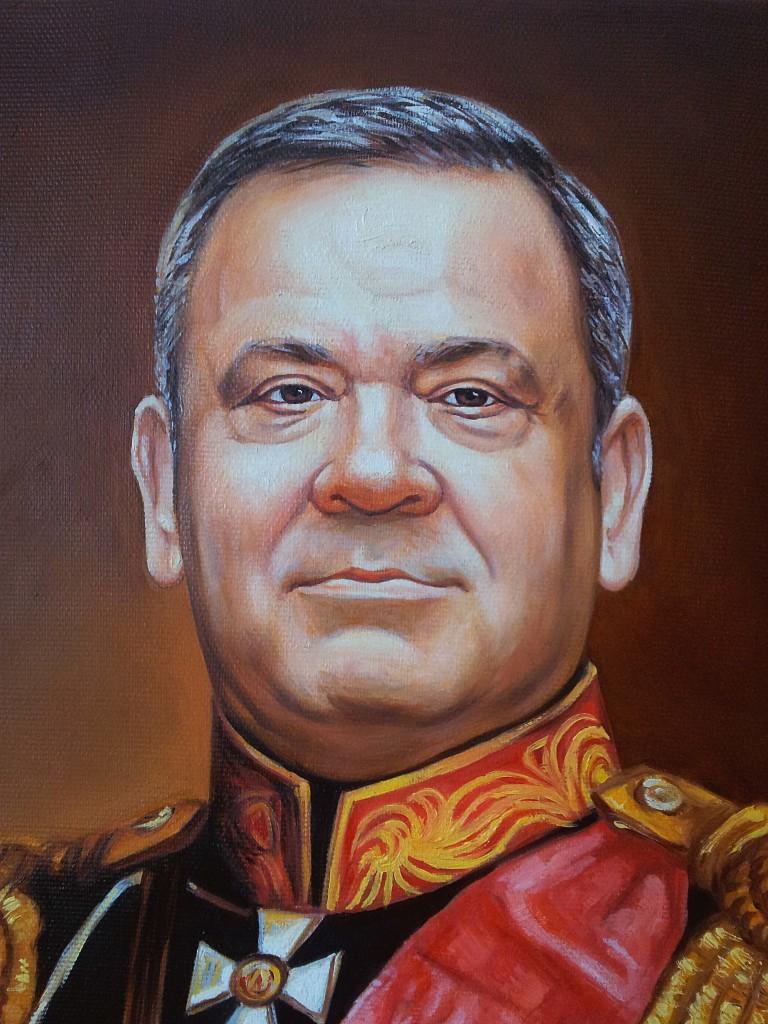 Портрет маслом на холсте в Кирове