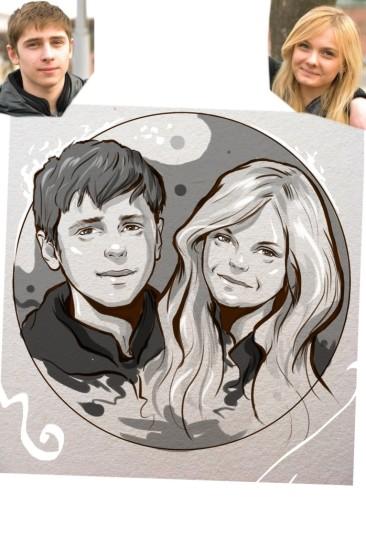 Заказать портрет на годовщину свадьбы в Кирове