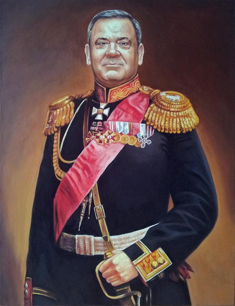 Где заказать портрет маслом в Кирове?