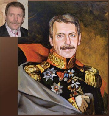 Настоящий портрет маслом на заказ в Кирове…