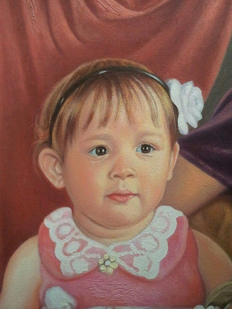 Портрет маслом семейный Киров