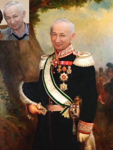 Где заказать исторический портрет по фото на холсте в Кирове?