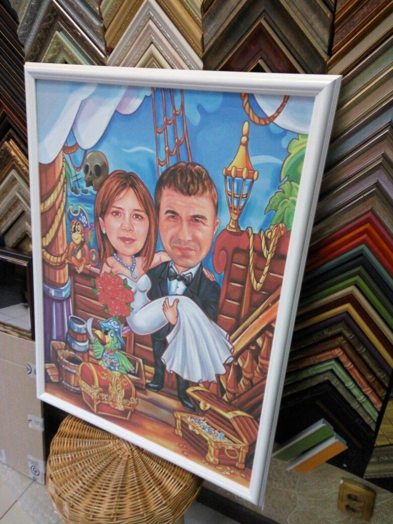 шарж по фото на заказ в Кирове