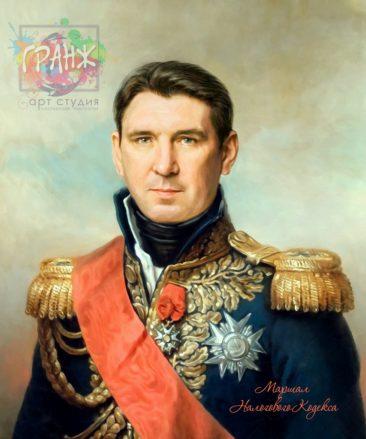 Подарок мужчине портрет по фото на холсте в Кирове
