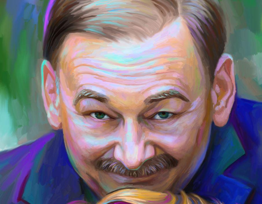 Портрет на холсте по фото в Кирове