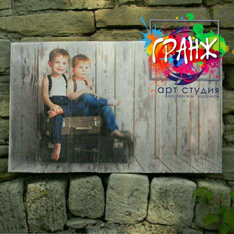 Картины на досках и портреты на дереве заказать в Кирове.