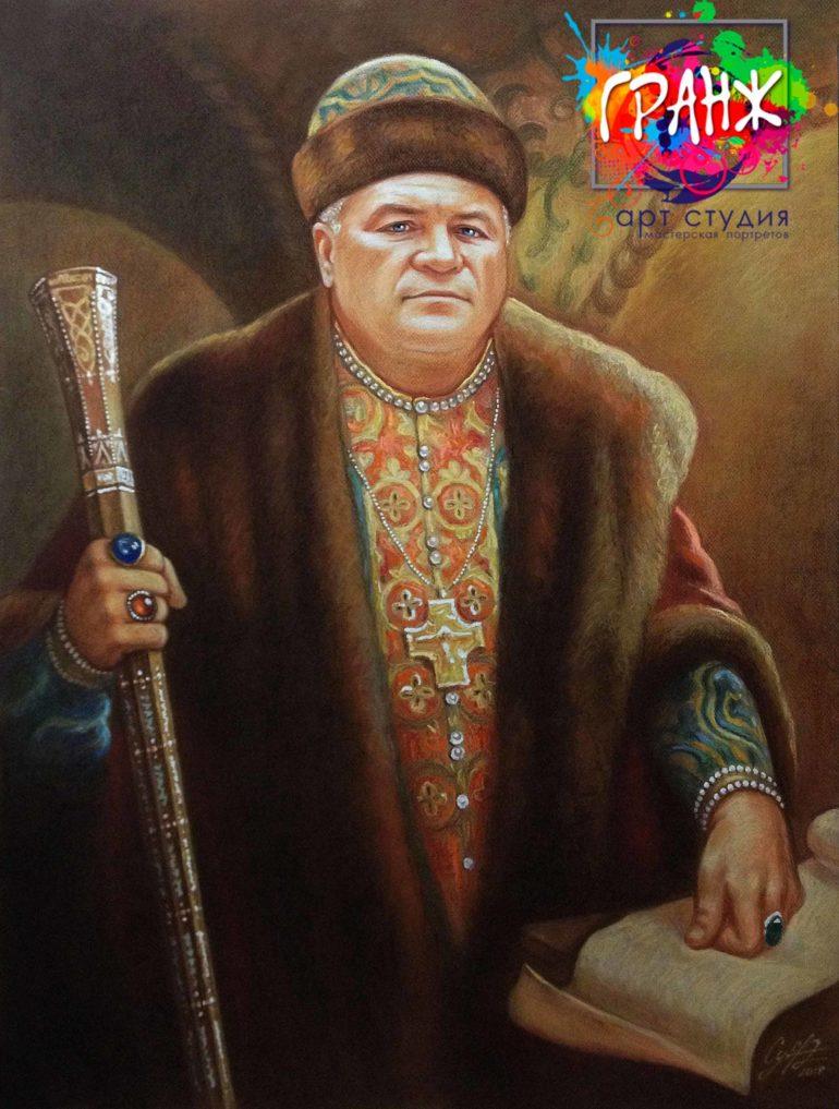 Заказать семейный портрет маслом на холсте в Кирове