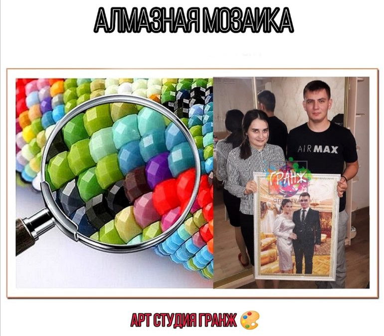 Алмазная мозаика по фото заказать в Кирове